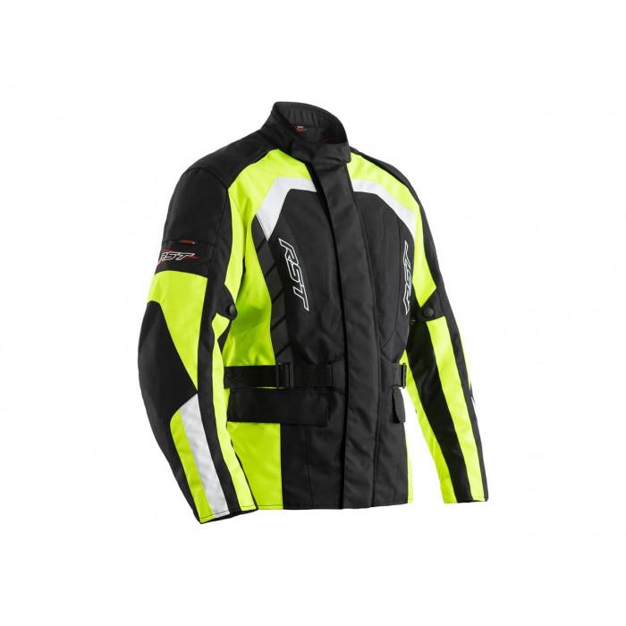 Veste RST Alpha 5 CE textile noir/jaune taille 2XL homme
