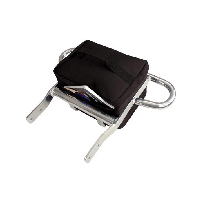Grab Bar avec sacoche noire ART Suzuki LT-R450