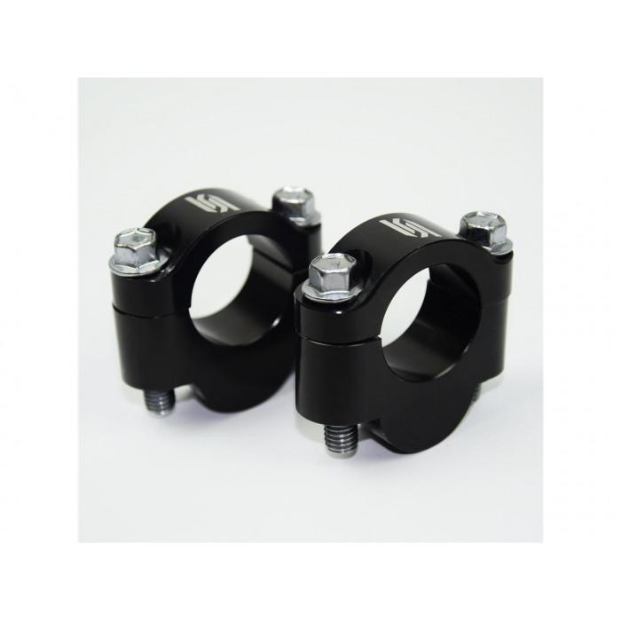 Rehausse guidon SCAR +20mm guidon Ø22,2mm noir