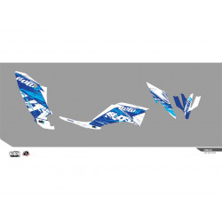 Kit déco KUTVEK Rotor bleu...