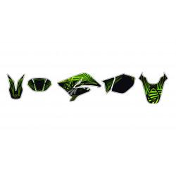 Kit déco KUTVEK Graff vert...