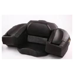 Coffre avec assise noir 90L