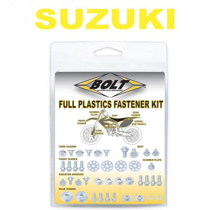 Kit visserie plastiques BOLT Suzuki RM-Z450