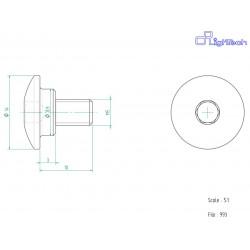 Vis LIGHTECH M5 X 10 Type...