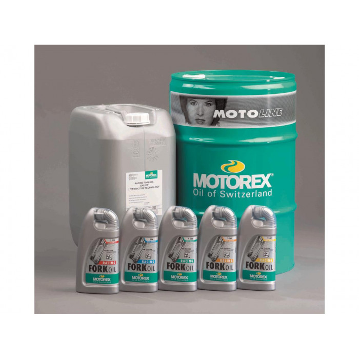 Huile de fourche MOTOREX Racing Fork Oil 15W 59L