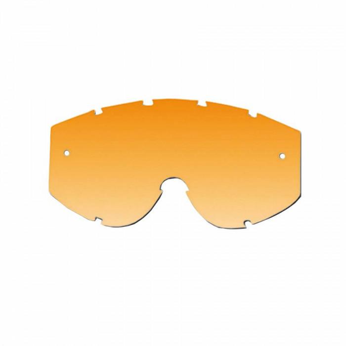 Ecran lunettes-masque cross progrip 3222 orange clair - anti-buee-anti-rayures