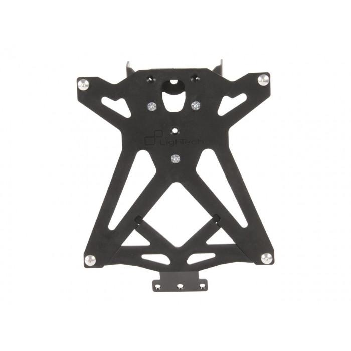 Support de plaque LIGHTECH réglable noir BMW S1000RR