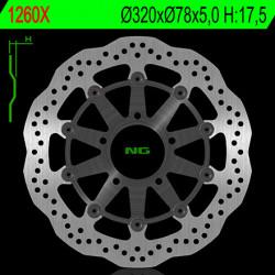 Disque de frein NG 1260GX...
