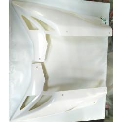Sabot BCD neuf adaptable YAMAHA STUNT SLIDER XTERM CLRS blanc en 2 parties