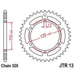 Couronne JT SPROCKETS 39...