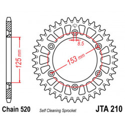 Couronne JT SPROCKETS 53...