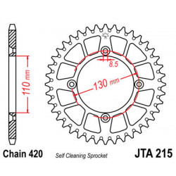 Couronne JT SPROCKETS 55...
