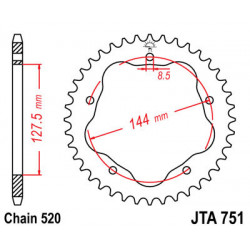 Couronne JT SPROCKETS 36...