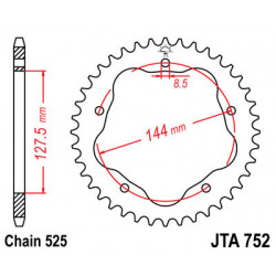 Couronne JT SPROCKETS 38...