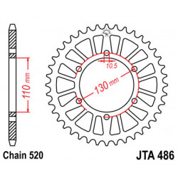 Couronne JT SPROCKETS 43...
