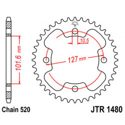 Couronne JT SPROCKETS 37...