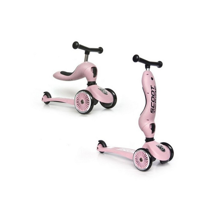 Porteur & trottinette HIGHWAY Kick 1 ROSE