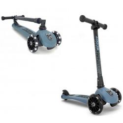 Trottinette 3 roues pliable à leds HIGHWAYKICK 3 Acier