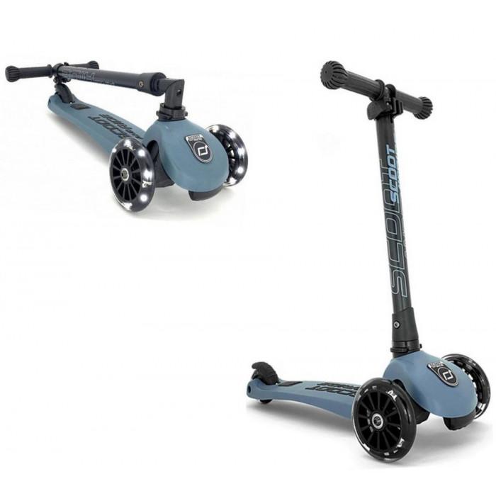 Trottinette 3 roues pliable à leds HIGHWAY KICK 3 Acier