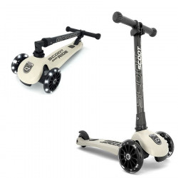 Trottinette 3 roues pliable à leds HIGHWAY KICK 3 Beige