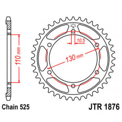 Couronne JT SPROCKETS 45...