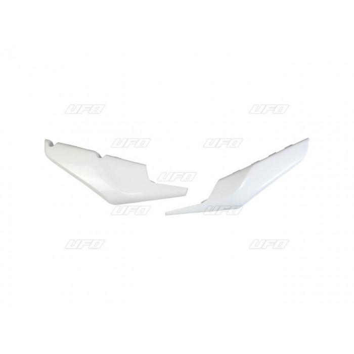 Plaques latérales inférieures UFO blanc Husqvarna