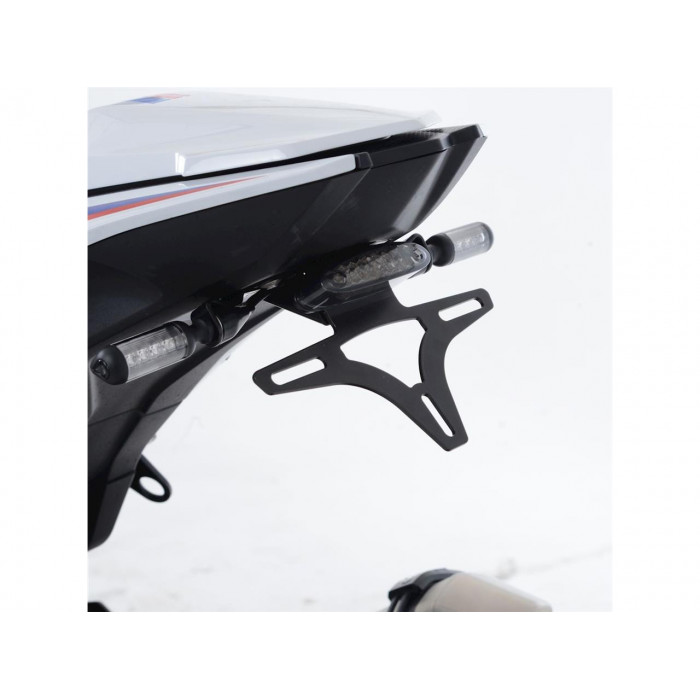 Support de plaque R&G RACING noir BMW S1000RR