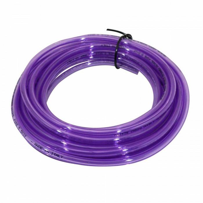 Durite essence double epaisseur speciale essence sans plomb 5,5x10 violet (10m) -ariete-