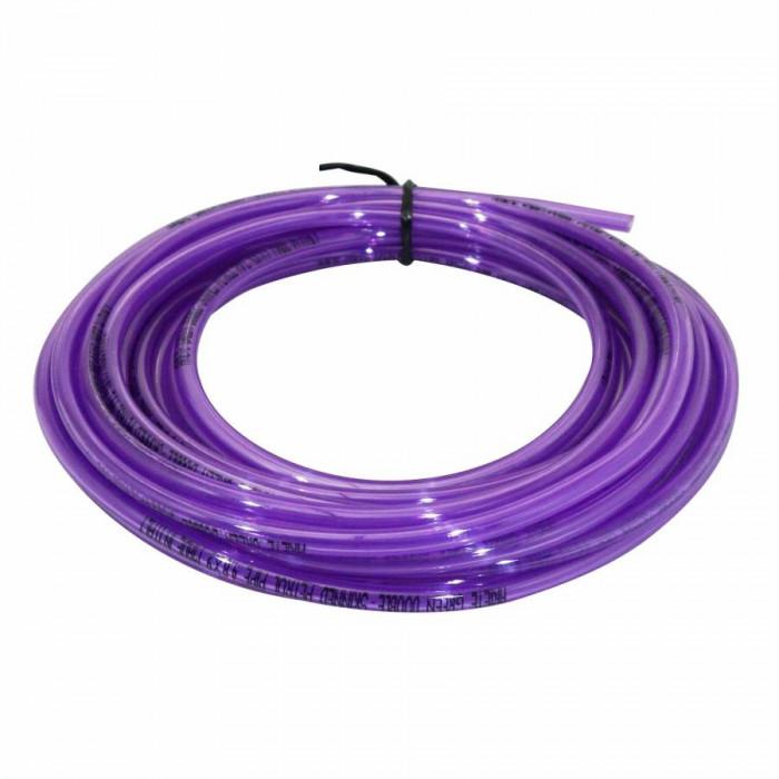 Durite essence double epaisseur speciale essence sans plomb 4,8x9 violet (10m) -ariete-