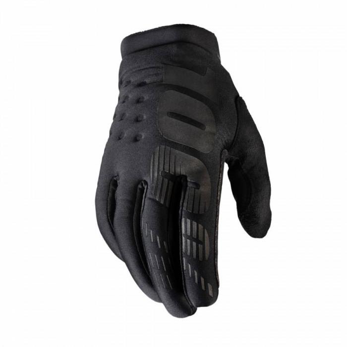 Gants 100% brisker noir-gris t10 (l) (homologue en 13594:2015)