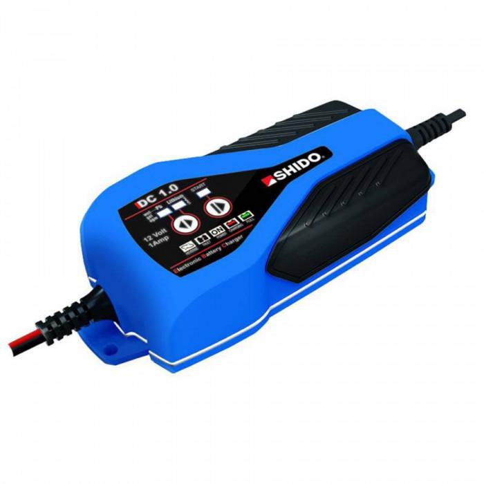 Chargeur de batterie shido dc 1.0 lithium ion-gel-acide 12v de 2 a 40 ah (lg180xl80xh40)