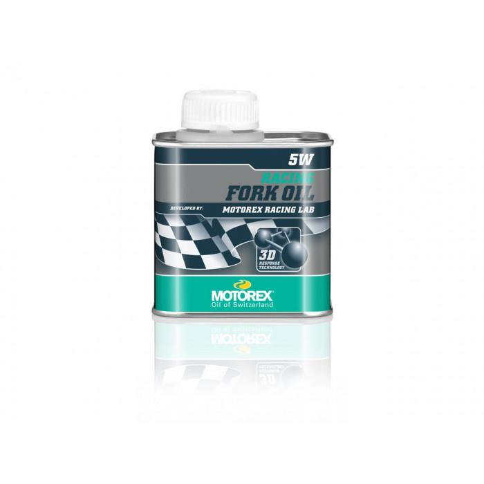 Huile de fourche MOTOREX Racing Fork Oil 5W 250ml