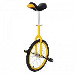 "Monocycle 20"" jaune tige de..."