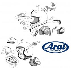 ARAI TD Duct 3 Front Set...