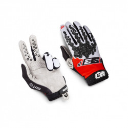 Gants S3 Nuts rouge taille S