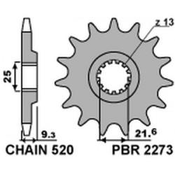 Pignon PBR acier standard...