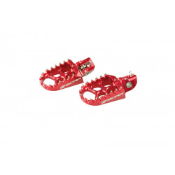 Repose-pieds SCAR rouge