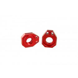 Tendeur de chaine SCAR rouge